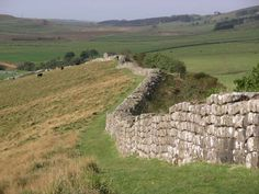 Hadrian's Wall:  Stretched  across Northern England