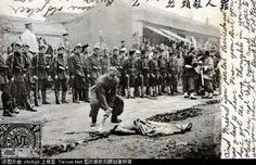 Boxer rebellion in China, 1900.