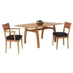 Handmade Vermont Modern Trestle Table | Solid Wood | High End Handmade Dining Furniture