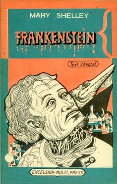 Monstrous Vintage Covers of Mary Shelley's 'Frankenstein'