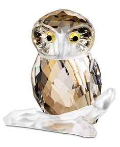 shop, medium owl, swarovski collect, crystal owl, swarovski owl