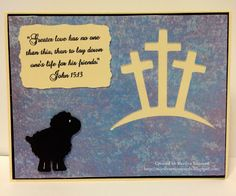 ~ Marilyn's Cricut Cards ~: OWH VCMP - No Greater Love