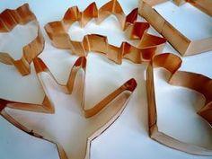 Os enseñamos como hacer nuestros propios moldes para hacer galletas (amb cinta de coure)