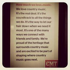 country music. <3