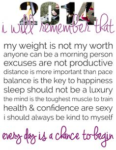 2014 Fitness Resolutions to Remember