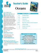 FREE 12-page Printable Lesson Plan for Kids Discover Oceans