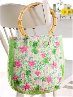Spring Fling Handbag - Sewing ePattern  #sewing