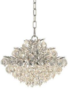 Vienna Full Spectrum Chrome and Crystal Modern Chandelier @EuroStyleLighting #interior_design #chandelier