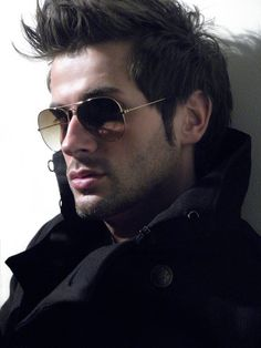 the hair, the shades, the coat. i will sport this look soon!
