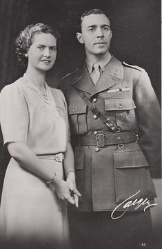 Crown Prince Gustaf Adolf and Crown Princess Sibylla of Sweden