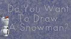 Do You Want to Draw a Snowman? Learn How To Draw Olaf At Disney's Hollywood Studios