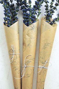 Parchment Paper Bouquet
