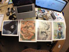 Some prints I ordered arrived.
