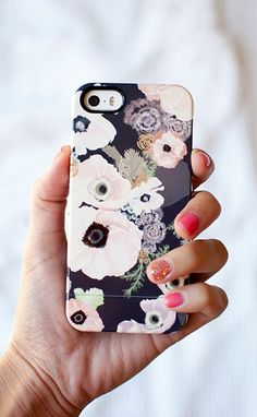 UNE FEMME floral Samsung Galaxy S5 or iPhone