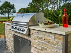 The gourmet outdoor grill is ready for entertaining! What's the first thing you'd throw on the grill if you win?