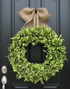 Boxwood Boxwood Wreaths Artificial Boxwood by twoinspireyou