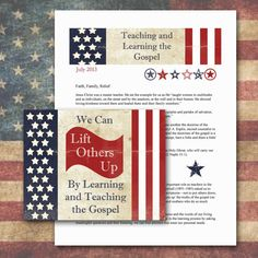 Visiting Teaching Lesson and Handout  June 2013 by GreenJelloSalad, $2.00