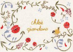 Misscaffeine - Ilustrações e bordados de Chloe Giordano