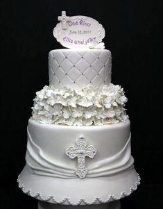 wedding or baptism cake
