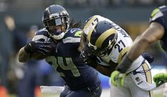 marshawn+lynch+pictures | Marshawn Lynch rushed for 1,590 yards and 11 touchdowns. (Elaine ...