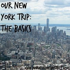 Our Trip to New York {The Basics}: Great Tips on Traveling to New York City