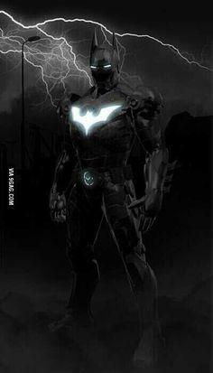 Iron knight. .. dark man.