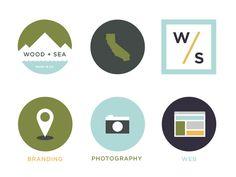 icons / minimal logo design