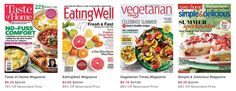 Here is a Cooking Magazine Sale EXCLUSIVELY for MSMreaders! This sale includes some great cooking magazines at the best prices that I have seen. Magazine also make great gifts so you might consider these for any foodies on your holiday …