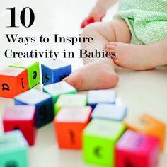 Inspiring creativity in babies