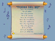 Poema del NO (Gloria Fuertes) - Escribe tu poema del NO