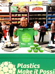Eat. Drink. RECYCLE. Repeat.   #NYCWFF
