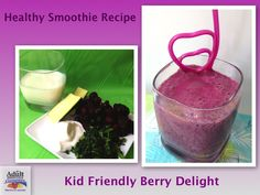 Healthy Smoothie Recipe: Berry Delight