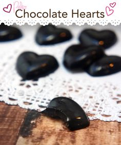 Paleo Chocolate Hear