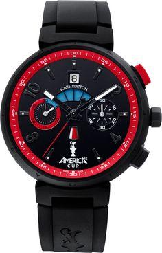 2012 Louis Vuitton Tambour Regatta America's Cup Watch