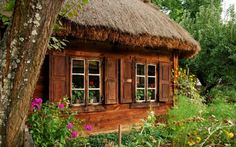 roof, dream cabin, cozy house, dream homes, english cottages