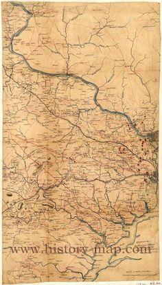 Fairfax County Civil War Map