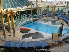 Liberty of the Seas- Solarium Pool