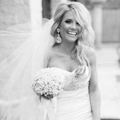 Hair and Veil hair down, idea, dream, weddings, the dress, wedding hairs, hairstyl, veil, bride