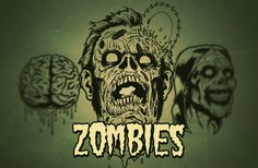 Zombies love brains.  It is a proven fact!