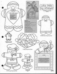 christmas crafts cut outs
