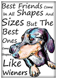 Best friends come shaped like wieners by CartoonYourMemories, $10.00