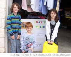 """""""I used to tell people that I wanted to work for charity: water when I grew up. But now I think we might be able to fix this and there might not be a water crisis when I'm old enough to work."""" --Ella"""