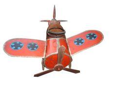 1950's kid's pedal plane