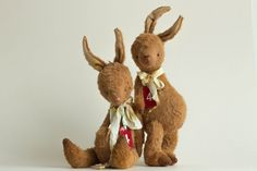 Mohair Bunny Ilia  Stuffed Animal  Plush Stuffed от annapavlovna, $259.00