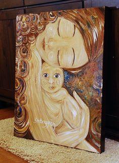 idea 1 :: painting by Katie M. Berggren