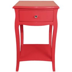Lille Side Cabinet in Coral- cute for girls room
