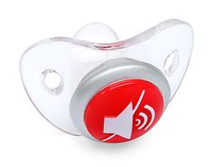 Mute Button Pacifier