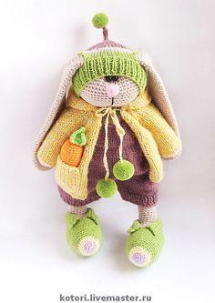 Adorable hand-crocheted Bunny!