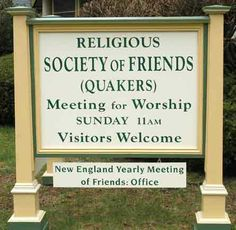 New England Meeting Web page
