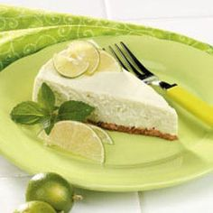 Key Lime Cheesecake. Grandmother made it and it was a great change from the regular pie